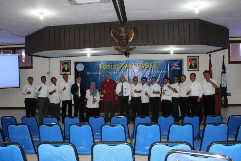 Sosialisasi Indonesia Accreditation Board For Engineering Education (IABEE)